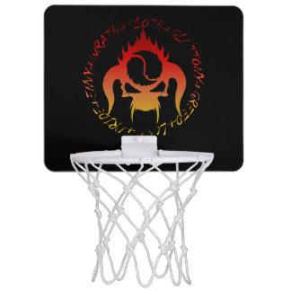 KORBballband mit sieben tödlichen Sünden Mini Mini Basketball Ring