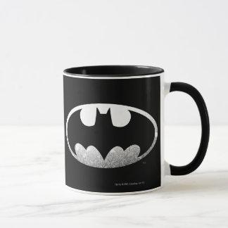 Körniges Logo Batman-Symbol-| Tasse