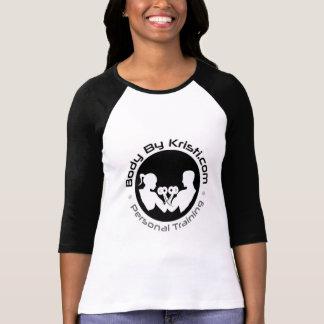 Körper durch der Raglan-T-Stück Kristi Frauen T-Shirt