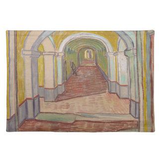 Korridor in St- Paulkrankenhaus Vincent van Gogh Tischset