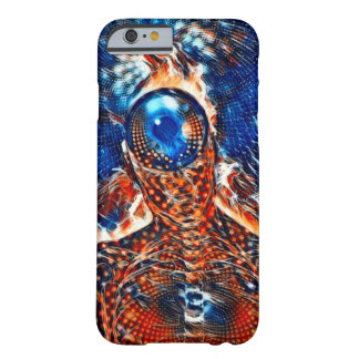 Kosmische Beobachter-Fantasie-Acrylfarbe Barely There iPhone 6 Hülle