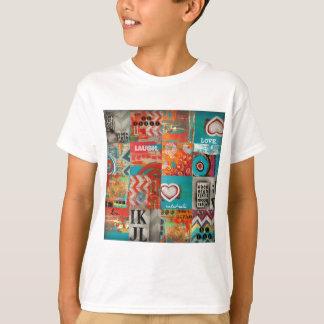 kosmische Collage T-Shirt