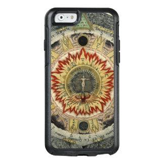 Kosmischer RoseMandala OtterBox iPhone 6/6s Hülle