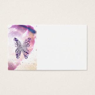 Kosmischer Schmetterling Visitenkarte