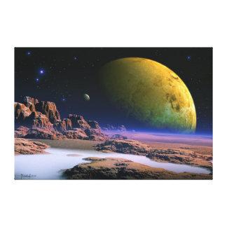 Kosmischer Vista Gespannter Galeriedruck