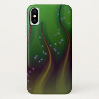 Kosmischer Wald iPhone X Hülle