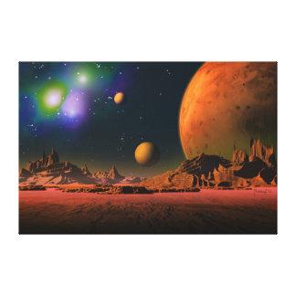 Kosmisches Bewusstsein Galerie Falt Leinwand