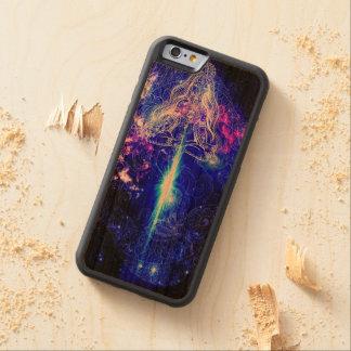 Kosmisches schillerndes Koi Bumper iPhone 6 Hülle Kirsche