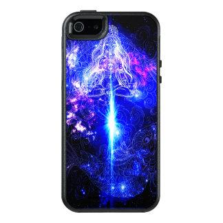 Kosmisches schillerndes Koi OtterBox iPhone 5/5s/SE Hülle