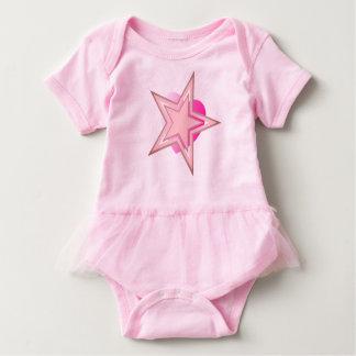 Kosmisches Stern-Herz Baby Strampler