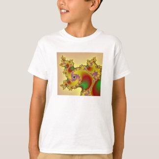 Kosmisches Unicorn-Fraktal T-Shirt