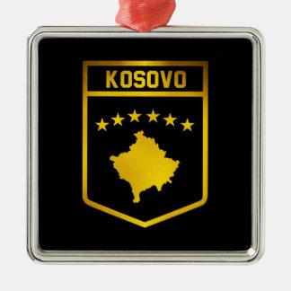Kosovo-Emblem Silbernes Ornament