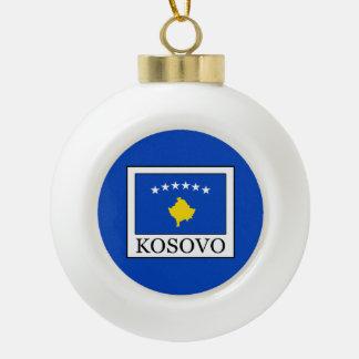 Kosovo Keramik Kugel-Ornament