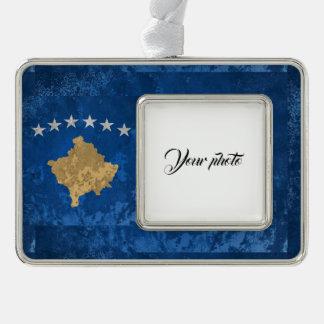 Kosovo Rahmen-Ornament Silber