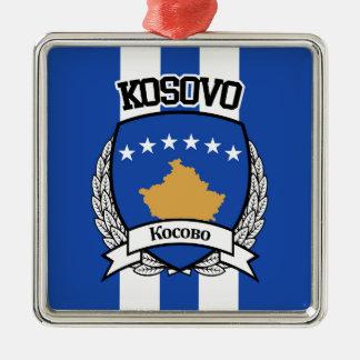 Kosovo Silbernes Ornament