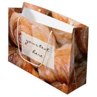 Köstliche klassische französische große geschenktüte