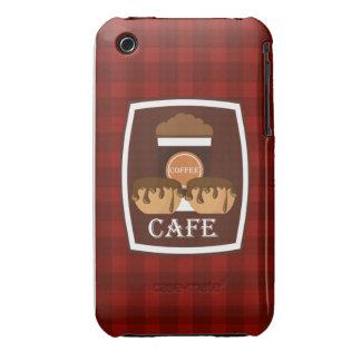 Köstlicher Tasse Kaffee der Illustration iPhone 3 Hüllen