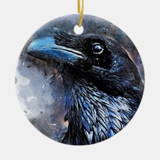 Krähenkunst #crow #bird #animals keramik ornament