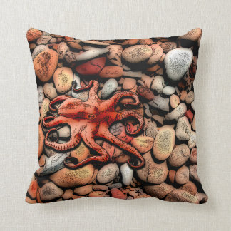 Kraken-Kiesel Kissen