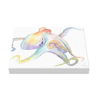 Kraken-Malerei Leinwanddrucke