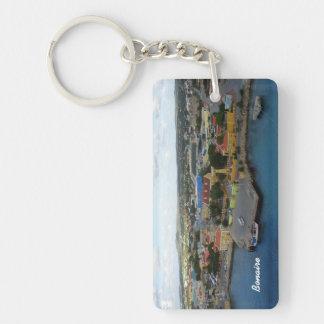 Kralendijk Harborfront Schlüsselanhänger