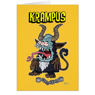 KRAMPUS 00 GRUßKARTE