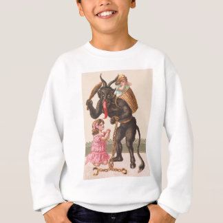 Krampus, das Kinderschalter-Kette bestraft Sweatshirt