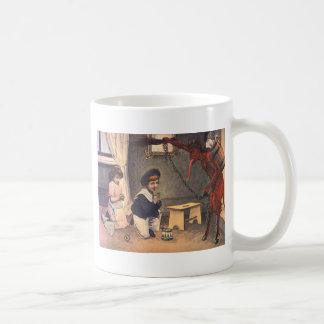 Krampus, das schlechte Kinder entführt Kaffeetasse