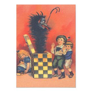 Krampus Jack-In-EIN-Box 12,7 X 17,8 Cm Einladungskarte