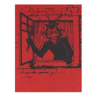 Krampus Postkarte
