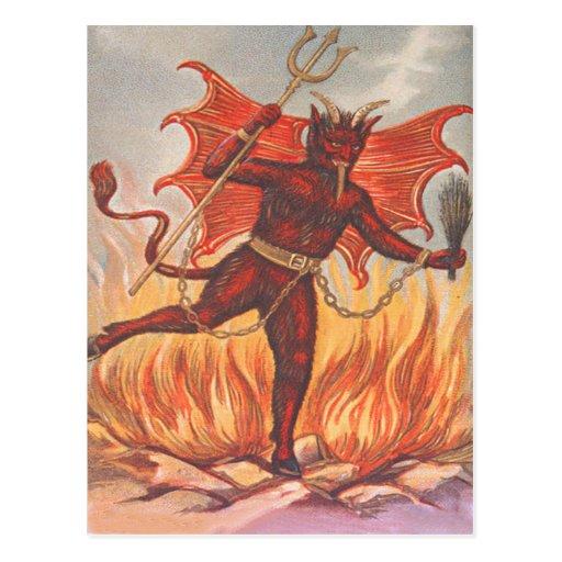 Krampus Postkarten