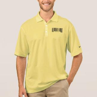 Krankenschwester-Barcode Polo Shirt