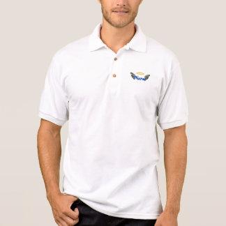 Krankenschwester-Engels-Flügel Polo Shirt
