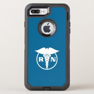 Krankenschwester-Entwurf OtterBox Defender iPhone 8 Plus/7 Plus Hülle