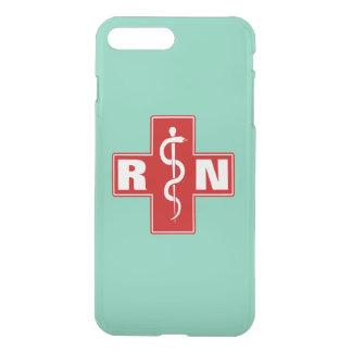 Krankenschwester-Initialen iPhone 8 Plus/7 Plus Hülle