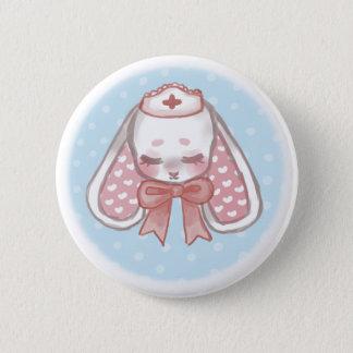 Krankenschwester Mimi (ohne Eyepatch) Runder Button 5,1 Cm