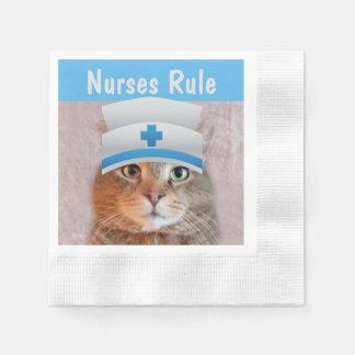 Krankenschwester-Regel Papierservietten