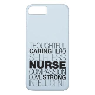 Krankenschwester-Text iPhone 8 Plus/7 Plus Hülle