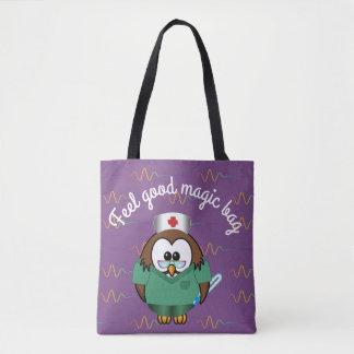 Krankenschwestereule - Taschentasche