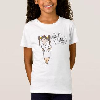 Krankenschwesterfrau - Mädchen können nicht, T-Shirt
