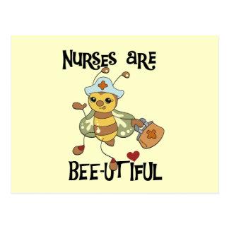 Krankenschwestern sind Biene-utiful T - Shirts und Postkarte