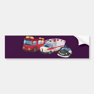 Krankenwagen Autoaufkleber