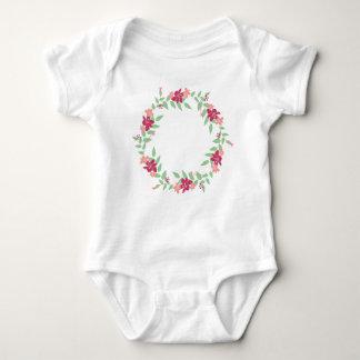 Kranz-kundenspezifischer Baby-Jersey-Bodysuit Baby Strampler