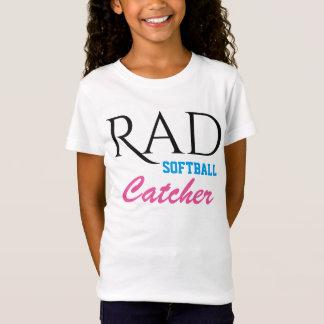 Krasser Softball-Fänger T-Shirt