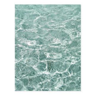 Kräuselungen im Wasser Postkarte