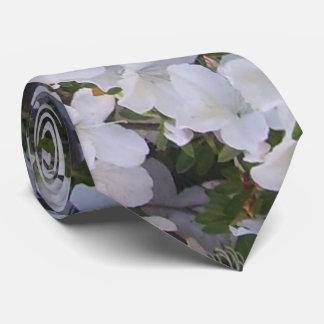 Krawatte - weiße Azalee
