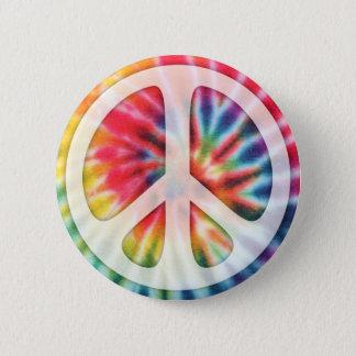 Krawatten-Friedenssymbol Runder Button 5,7 Cm