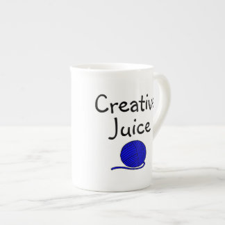 Kreative Saft-Tasse mit Garn Porzellan-Tasse