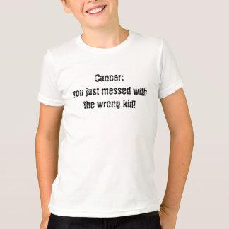 Krebs: Sie verwirrten gerade mit dem falschen T-Shirt