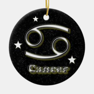 Krebssymbol Keramik Ornament